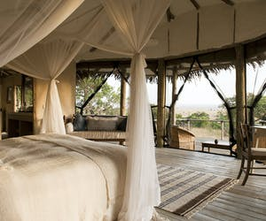 Lamai Serengeti Camp Bedroom