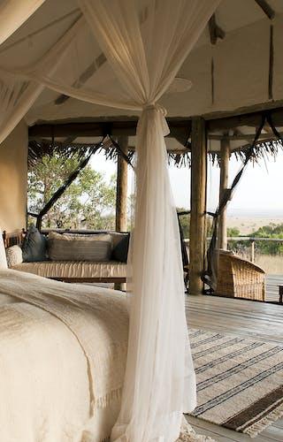 Lamai Serengeti Camp Bedroom