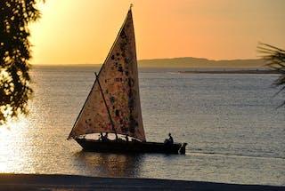 The  Majlis Sailing Boat