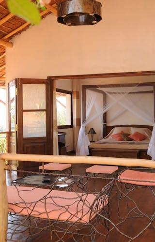 Les Soleil Des Tsingy Bedroom View