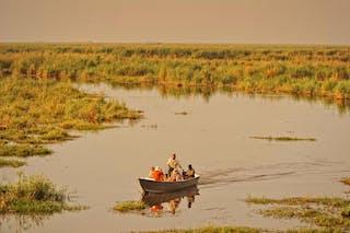 Linyanti Bush Camp Boat River Safari