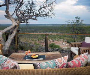 Little Ongava Deck With Chairs And Cocktails View Min
