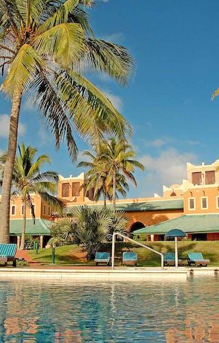 Avani Pemba Beach Hotel From Pool