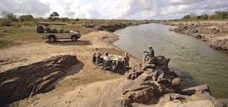 Azura Selous Picnic Next To River