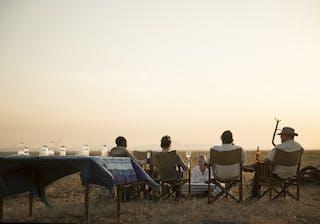 Chada Katavi Camp Sundowners