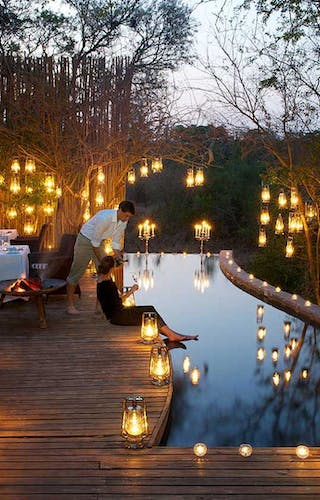 Londolozi Pioneer Camp Private Dinner