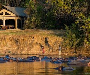 Luambe Camp Tent Exterior