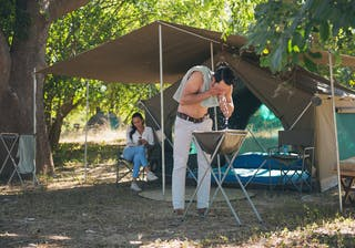 Luangwa Bush Camping Morning