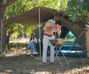 Luangwa Bush Camping Morning