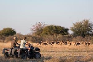 Camp  Kalahari Quad Biking