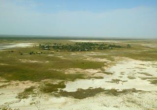 Jacks Camp Aerial View