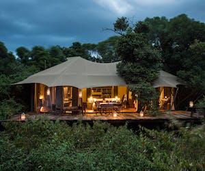Mara Plains Tent External View