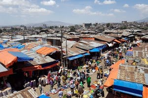 Merkato Market In Addis Ababa By Muluken