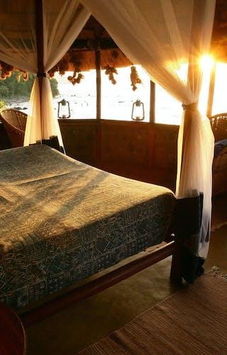 Mfangano Island Camp Bedroom View