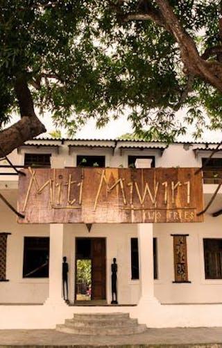 Miti Miwiri Lodge Entrance
