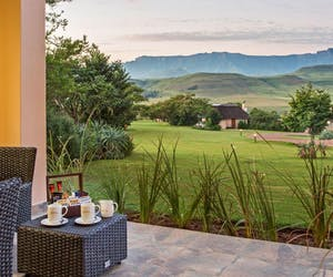 Montusi Mountain Lodge Veranda View
