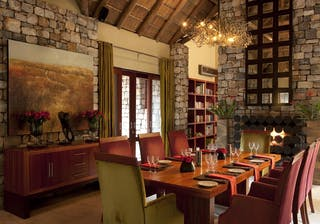 Morukuru  Owners  House Dining Indoors