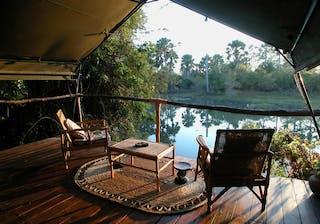 Mvuu Lodge Veranda