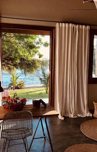 Mwani House Lodge View From Bedroom