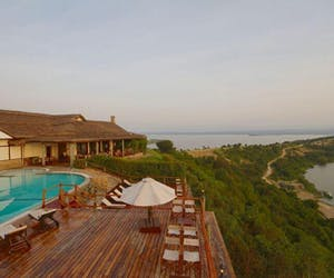 Mweya Safari Lodge Aerial