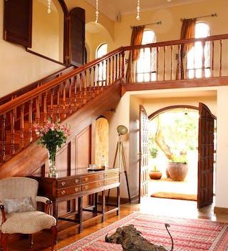 Giraffe Manor Reception Area