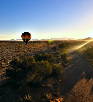 Hot Air Balloon Sossusvlei