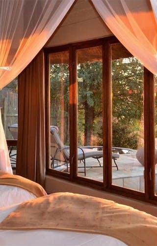Ngoma Safari Lodge Bedroom View