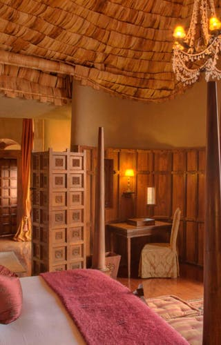 Ngorongoro Crater Lodge Bedroom