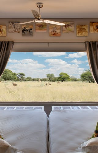Okonjima Plains Camp Bedroom