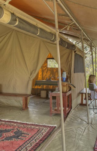 Ol Pejeta Bush Camp Tent Interior