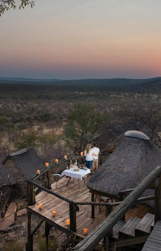 Ongava Lodge Sunset Balcony