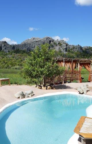 Iharana Bush Camp pool
