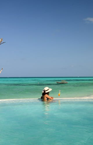 Pongwe Beach Hotel Infinity Pool