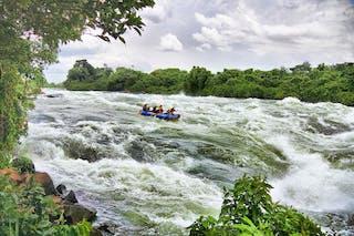 Rafting White Nile