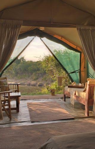 Rekero Camp Luxury Tent