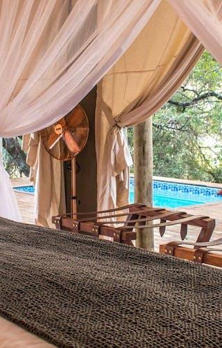 Rhino Sands Safari Camp Bedroom