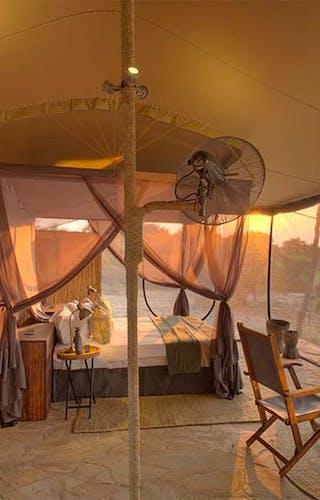 Roho Ya Selous Bedroom