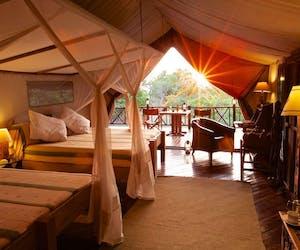 Rufiji River Camp Bedroom