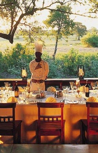 Sabi Sabi Selati Lodge Lunch Deck