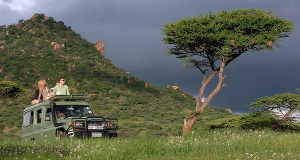 Safari At Ol Lentille
