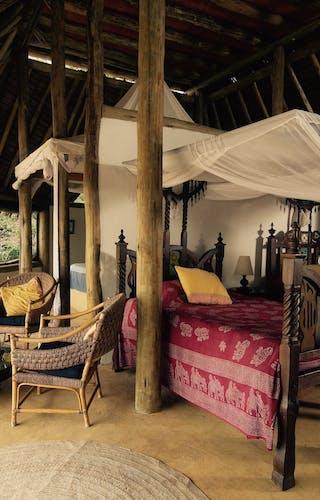 Samatian Lodge Bedroom