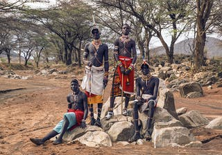 Saruni Samburu Samburu Warriors
