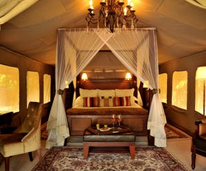 Selous Serena Camp Bedroom