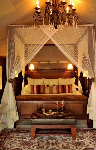 Selous Serena Camp Bedroom