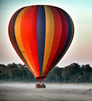 Serian Balloon Flight