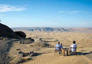 Serra Cafema Desert Lunch