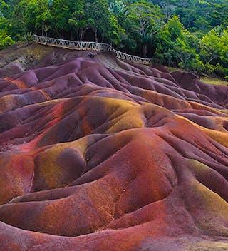 Seven Coloured Earth In Chamarel