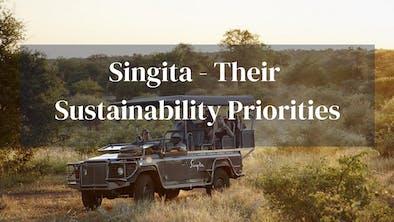 Singita Sustainability Priorities