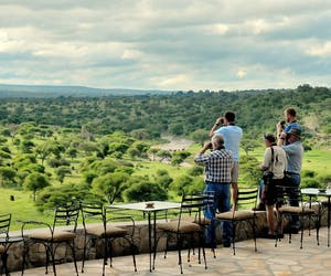 Tarangire Safari Lodge Terrace