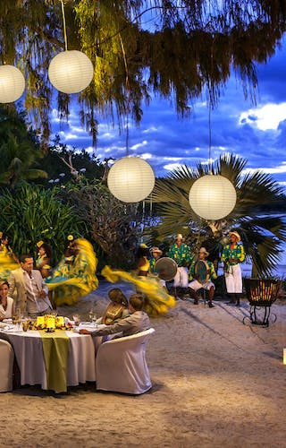 The  Residence  Mauritius  Dinner On The  Shore